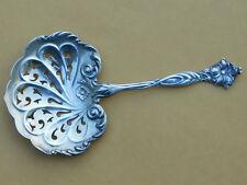 Art Nouveau Sterling Bonbon Server Pierced Spoon Gorham H45 1900