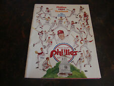 Philadelphia Phillies---1984 Yearbook