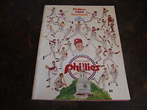 Philadelphia Phillies---1984 Yearbook