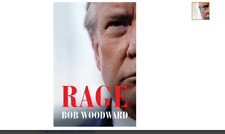RAGE by Bob Woodward PRE-ORDER Published September 15th Hardcover Book