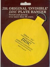 The Original Invisible Disc Plate Hanger - 140mm Size