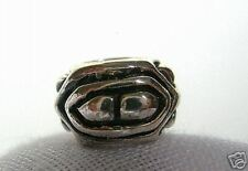Authentic Trollbead~Sterling Silver Bead~Angle Triangle~New~Charm~Trollbeads