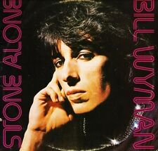 BILL WYMAN (OF THE ROLLING STONES) stone alone COC 79103 usa 1976 LP PS EX/VG