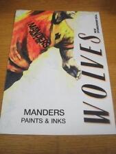 1988/1989 Wolverhampton Wanderers: Matchball Sponsorshi