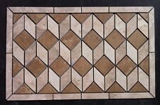 "23""x14 1/4"" 3D Ceramic Tile Medallion, , Daltile's Salerno, floor or wall."