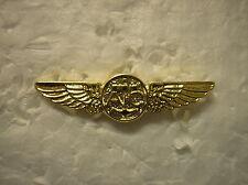 U. S. NAVY HAT PIN - REPLICA OF NAVAL AIRCREW WINGS