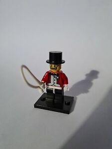 Lego minifigures Series 2 Circus Ringmaster Lion Tamer