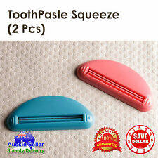 2pcs Plastic Toothpaste Tube squeezer Cream Dispenser Press Rolling Roller Tool