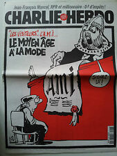 CHARLIE HEBDO 1998 # 296 Luz AMI Moyen Age Mancel Riss caricatures satiriques