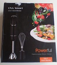 OXA Smart Powerful 2-in-1 Hand Blender with 6 Speed Black