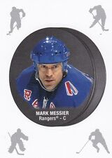 MARK MESSIER 2016-17 16-17 OPC O-PEE-CHEE PUCK STICKER REDEMPTION #20 RANGERS
