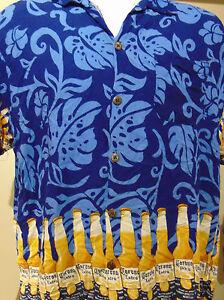 Corona  Men's Hawaiian  Shirt XL