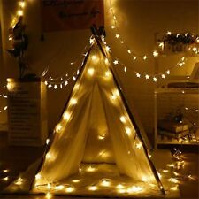 Star Light String Twinkle Garlands Battery Powered Christmas Lamp Holiday Part