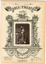 Lemercier, Paris-Théâtre, Marie-Thérèse-Désirée Alliouz-Luguet dite Marie Lauren