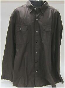 "Harley Davidson Men's 4X-Large Long Sleeve Shirt Woven ""Big-Guy"" 96552-14VM/042L"