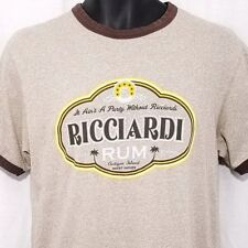 Old Navy Ricciardo Rum Mens T Shirt Vtg 90s Ringer Tee Regular Fit Size Small