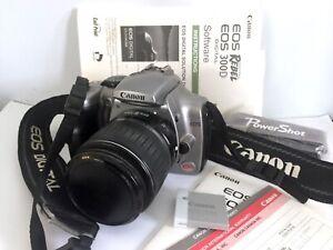 Canon EOS Rebel 300D DS6041 Digital SLR Camera Zoom Lens 18-55mm + Accessories