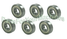 SIX (6) HEAVY DUTY SPINDLE BEARINGS, REPL 5023330, FOR FERRIS SPINDLE 5061095