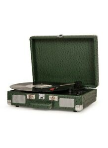 New Crosley Cruiser Deluxe OSTRICH 3 speed vinyl record player Bluetooth 🎶🎶