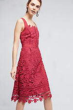 NWT Anthropologie Mulberry Cross-Back Dress, by HD in Paris - Raspberry, size 2