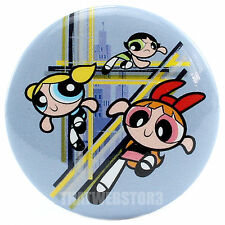 "The Powerpuff Girls Ready For Action 1.25"" Button ~ Officially Licensed"