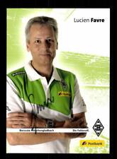 Lucien Favre Autogrammkarte Borussia Mönchengladbach 2014-15 Original +A 171509