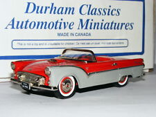 Durham Classics DC-36K 1954 Ford Thunderbird Prototype Red/Grey LTD ED 1/43