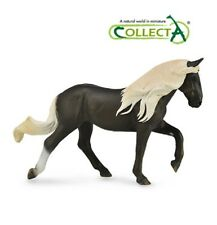 2017 New Collecta TOY&FIGURE Chocolate Rocky Mountain Female Horse