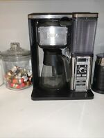 Ninja Specialty Coffee Maker With Glass Carafe And Fold-Away Frother CM400 Used
