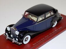 1/43 True Scale TSM 1952 Rolls Royce Silver Wraith Park Ward Saloon Blue / Black