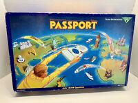 1991 Vintage Electronic PASSPORT Board Game Texas Instruments~HTF~Family