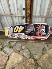 Coors Light Beer Nascar Sterling Martin Die cut Metal Car Sign 35� Racing