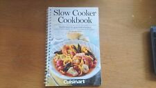 cuisinart / slow cooker cookbook / traditional to goumet recipes (model psc-650A