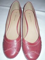 Emilio luca x Ladies Shoes Zeus Red Size 9 low heel NEW without box