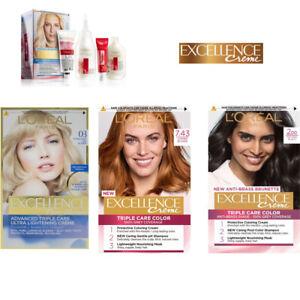 Loreal Excellence Creme Hair Dye Pro-Keratin Collagen by L'Oreal Paris