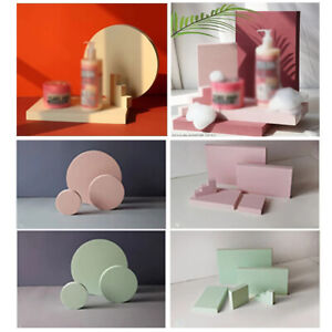 3x INS Photography Backdrops Geometric Cube Photo Shooting Foam Background Props