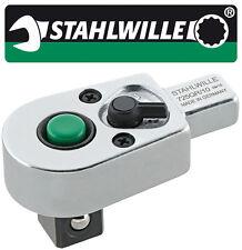 "Stahlwille QR Ratchet Insert Tool 9 x 12 mm 1/2"" Inch Drive -STW725QR10-58253010"