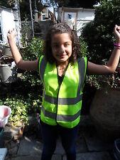 Childrens Hi Vis Waistcoat Vest