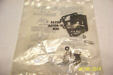1 NOS POULAN NEW trimmer walbro carburetor kit A0106-WA