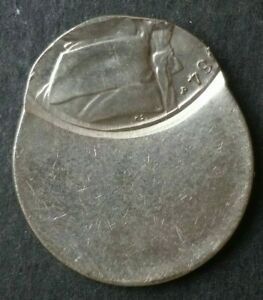 1984 P 5c Jefferson Nickel Off-Center Error