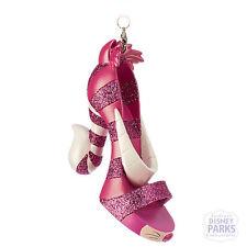 Disney Parks Cheshire Cat Alice in Wonderland Runway Shoe Ornament Christmas
