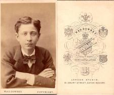 CDV Downey, London, Le Prince Impérial, Louis-Napoléon Bonaparte, en exil, circa