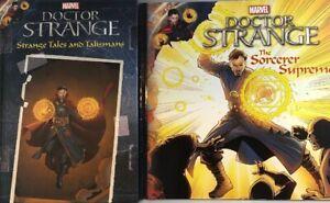 Marvel Dr Strange Strange Tales And Talismans Hardback Book & Paperback New
