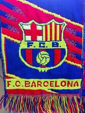 Barcelona FC Barca Official Scarf from 2001-2002