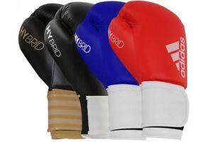 Adidas Boxing Gloves Hybrid 100 Sparring Training Thai Kickboxing 10 12 14 16oz