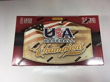 2013 Panini Usa Baseball Champions Baseball Hobby Box - Factory Sealed!