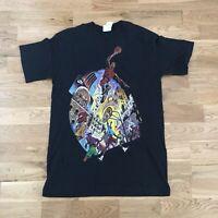 Vintage 90's Nike Air Jordan #23 Playground Pick Up Game T-Shirt Medium Made USA