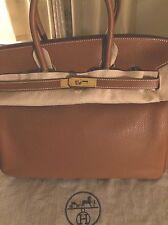 HERMES Birkin Bag 35cm Gold Togo Leather GHW ~ 100% AUTHENTIC