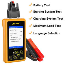 AUTOOL BT460 Automotive Battery Tester Lead-acid AGM GEL Analyzer for 12/24V Car