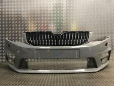 GENUINE SKODA OCTAVIA VRS FRONT BUMPER WITH WASHER JET HOLES 2013-2016 (S17)
